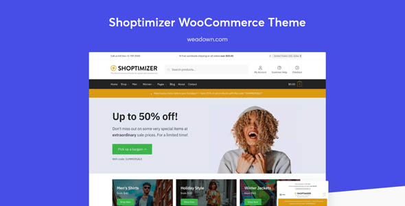 Shoptimizer 2.2.4 - The Fastest WooCommerce Theme