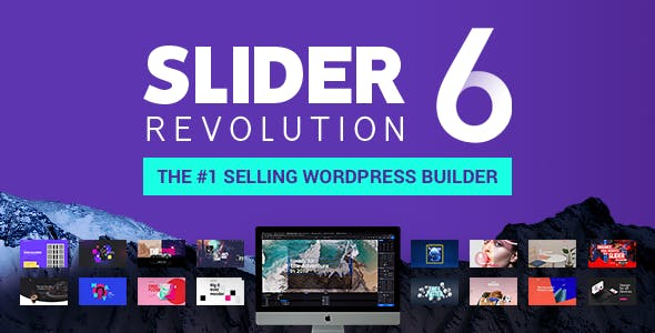 Slider Revolution 6.0.1 (Nulled) - Responsive WordPress Plugin