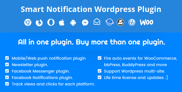 Smart Notification WordPress Plugin 9.2.74 Nulled