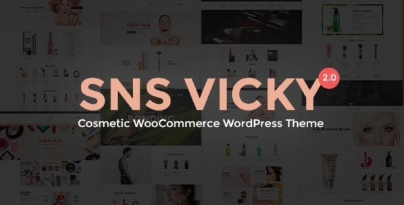 SNS Vicky 2.8 - Cosmetic WooCommerce WordPress Theme