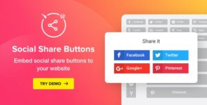 Social Share Buttons for WordPress 1.6.0