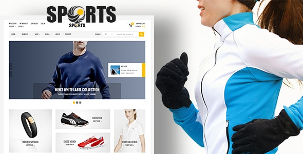 Sport Shop 2.4 - Sporting Club RTL WooCommerce WordPress Theme