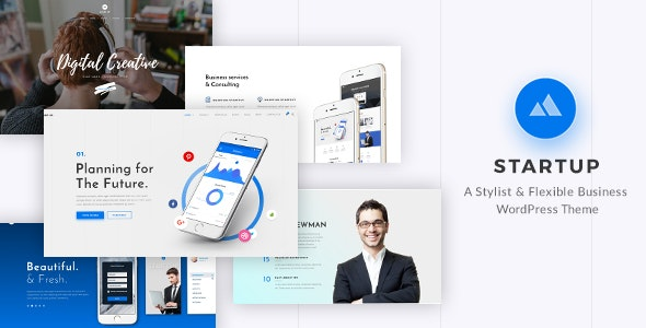 StartUp 2.1 - Responsive Multi-Purpose WordPress Theme