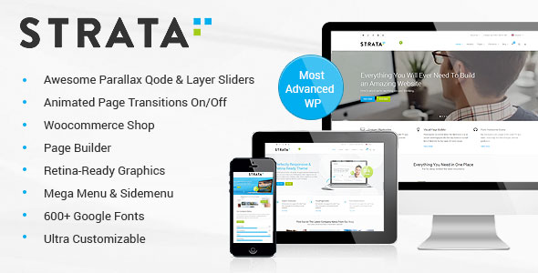 Strata 3.1 - Professional Multi-Purpose WordPress Theme