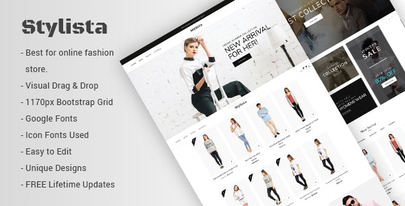 Stylista 1.0.7 - Responsive Fashion WooCommerce WordPress Theme