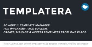 Templatera 2.0.4 - Template Manager for WPBakery Page Builder