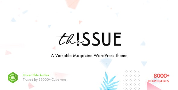 The Issue 1.5.2 Nulled - Versatile Magazine WordPress Theme