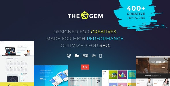 TheGem 4.5.4 Nulled - Creative Multi-Purpose High-Performance WordPress Theme