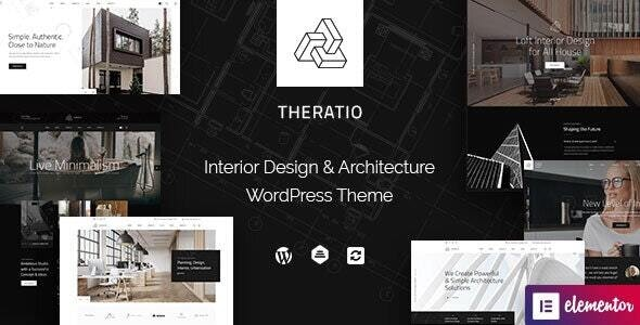 Theratio 1.1.3 - Architecture & Interior Design Elementor