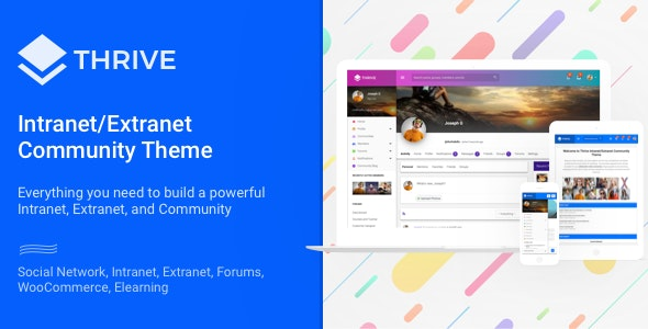 Thrive 3.1.10 - Intranet & Community WordPress Theme