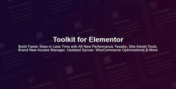 Toolkit for Elementor 1.1 - Addons for Elementor