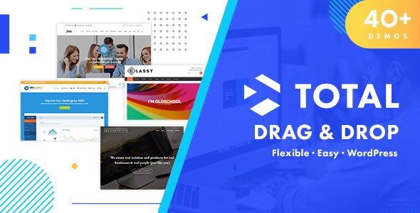 Total 5.0.1 Nulled - Responsive Multi-Purpose WordPress Theme