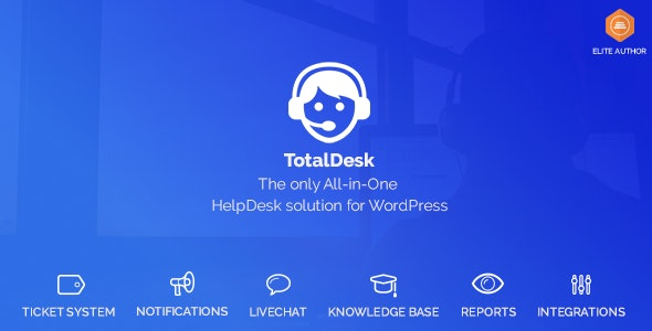 TotalDesk 1.7.8 - Helpdesk, Live Chat, Knowledge Base & Ticket System