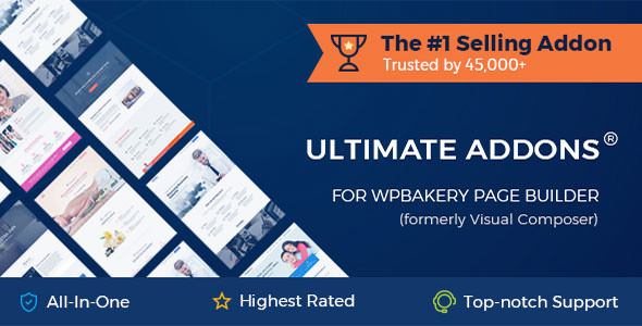 Ultimate Addons for WPBakery Page Builder 3.19.0 (Nulled)