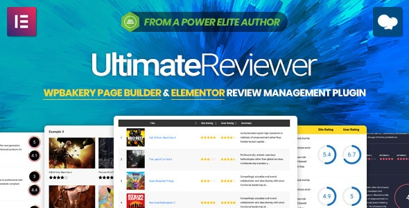 Ultimate Reviewer 2.6.1 - Elementor & WPBakery Page Builder Addon