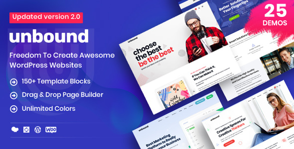 Unbound 2.0.3 (Nulled) - Business Agency Multipurpose Theme