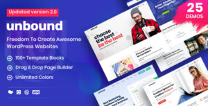 Unbound 2.1.1 - Business Agency Multipurpose Theme