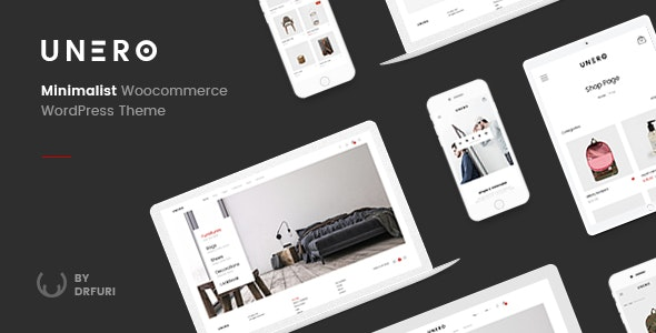 Unero 1.8.7 - Minimalist AJAX WooCommerce WordPress Theme