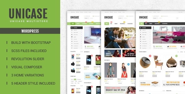 Unicase 1.6.6 - Electronics Store WooCommerce Theme
