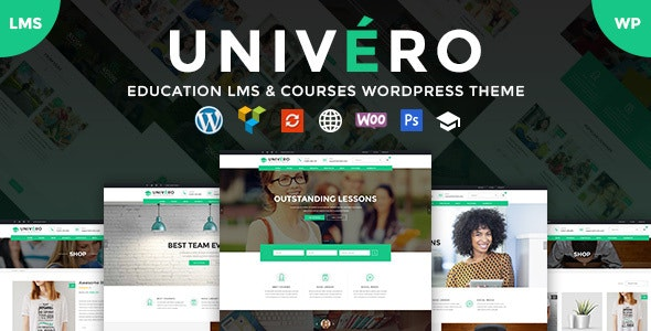 Univero 1.8 - Education LMS & Courses WordPress Theme