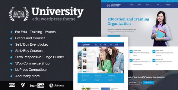 University 2.1.4.1 - Education, Event and Course Theme