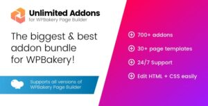 Unlimited Addons for WPBakery Page Builder 1.0.41
