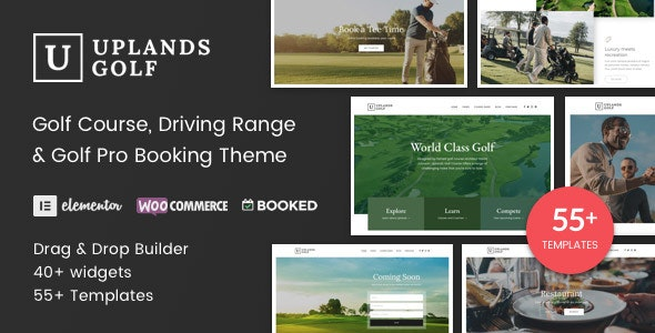 Uplands 1.4.2 - Golf Course WordPress Theme