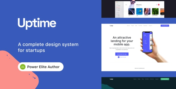 Uptime 1.0.8 - Responsive Elementor WordPress Theme for Business