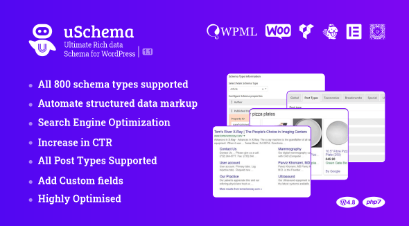uSchema 2.1.1 - Ultimate Rich Data Schema for WordPress
