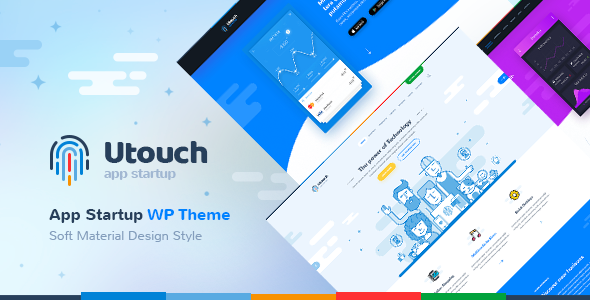 Utouch 2.7 - Startup Business and Digital Technology WordPress Theme