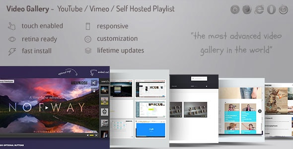 Video Gallery WordPress Plugin v11.70 - YouTube, Vimeo, Facebook pages