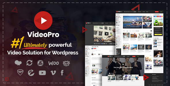 VideoPro 2.3.6.5 - Video WordPress Theme