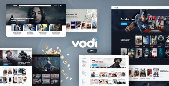 Vodi 1.2.1 - Video WordPress Theme for Movies & TV Shows