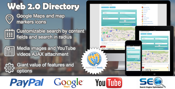 Web 2.0 Directory plugin for WordPress 2.6.3 Nulled
