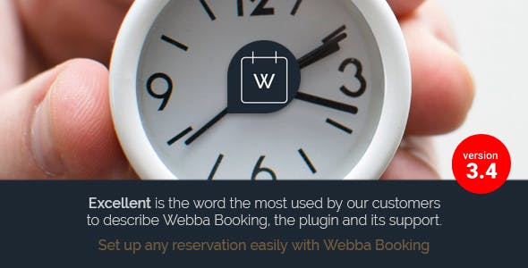 Webba Booking 3.8.28 - Appointment & Reservation WordPress Plugin