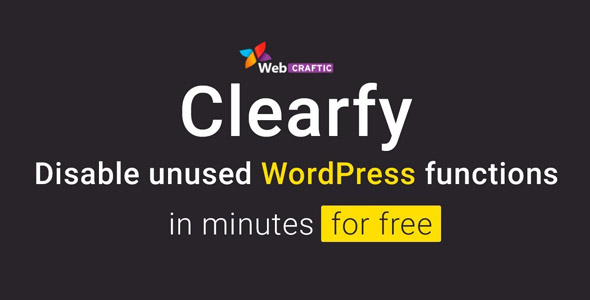 Webcraftic Clearfy Business 1.7.2 Nulled