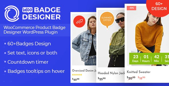 Woo Badge Designer 3.0.0 - WooCommerce Product Badge Designer