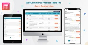 Woo Product Table Pro 7.0.2 - WooCommerce Product Table
