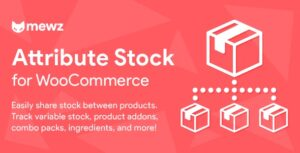 WooCommerce Attribute Stock 1.3.5 - Share Stock Between Products