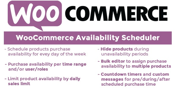WooCommerce Availability Scheduler 10.7
