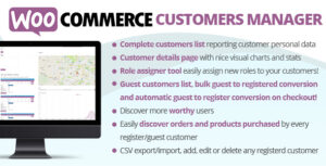 WooCommerce Customers Manager 25.7