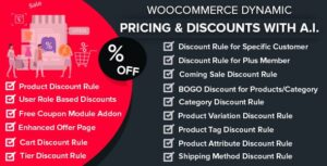 WooCommerce Dynamic Pricing & Discounts with AI 1.5.3 Nulled