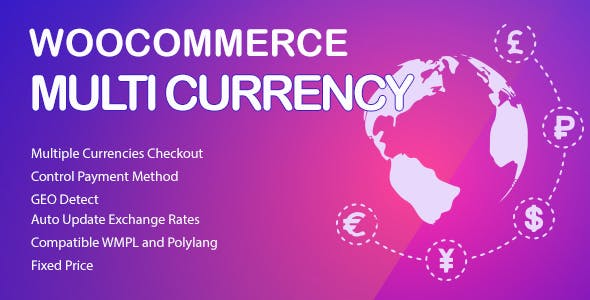 WooCommerce Multi Currency 2.1.9.4 - Currency Switcher