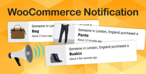 WooCommerce Notification 1.4.2 - Boost Your Sales - Live Feed Sales - Recent Sales Popup - Upsells