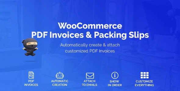 WooCommerce PDF Invoices & Packing Slips 1.3.12