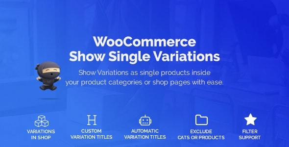WooCommerce Show Variations as Single Products 1.1.14