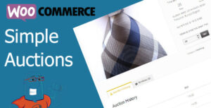 WooCommerce Simple Auctions 1.2.38 - WordPress Auctions