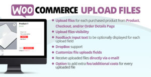 WooCommerce Upload Files 56.9 Nulled