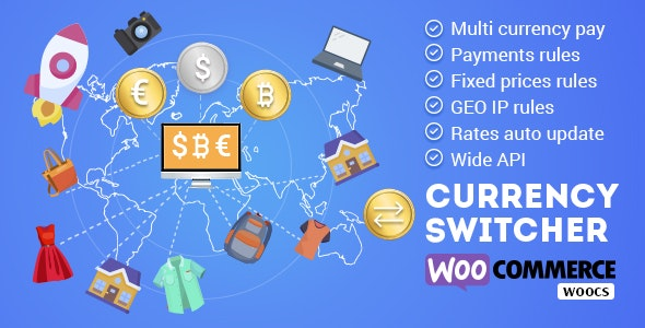 WOOCS - WooCommerce Currency Switcher 2.3.2