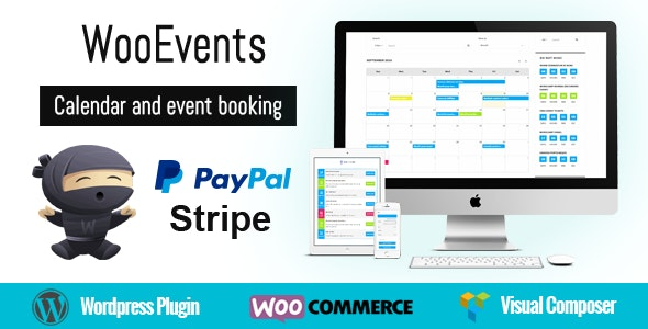 WooEvents 3.6.2 - Calendar and Event Booking